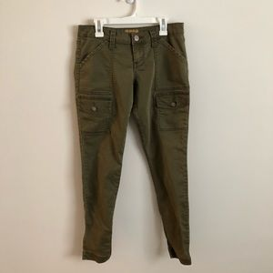 STS Blue green cargo jeans